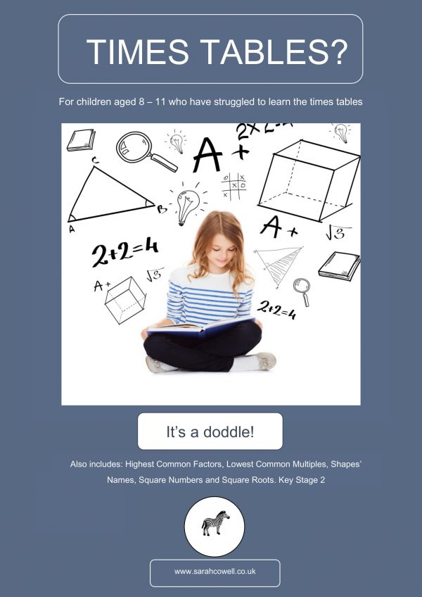 TIMES TABLE COVER GIRL-