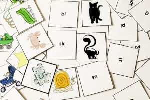 dyslexia spelling work cards